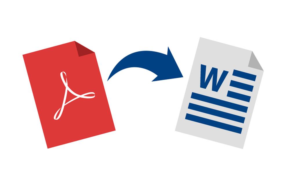 PDF convert word