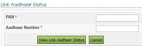 pan card link adhar card