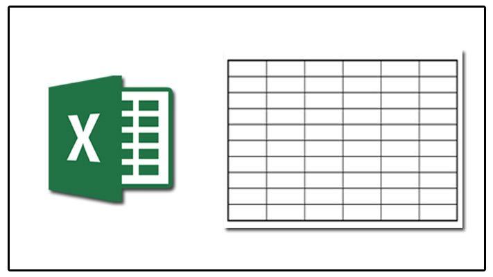 Excel में Table कैसे बनायें